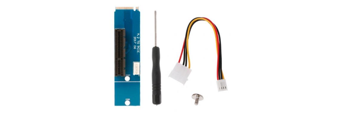 Переходник M2 PCI-E x4